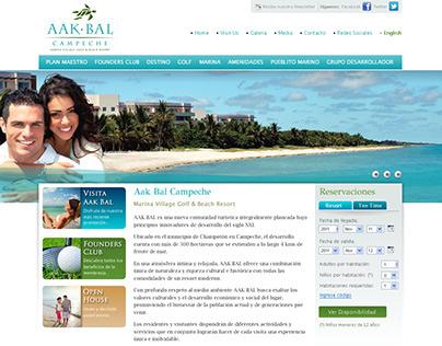 Aak-Bal Website