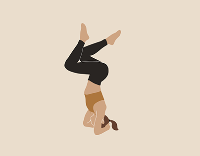 Illustration • yoga