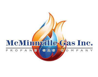 McMinnville Gas Company Logo Design