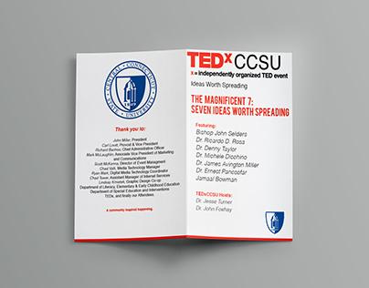 TEDx Talk at CCSU Brochure