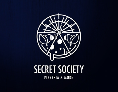 Logo design - Secret Society Pizzeria