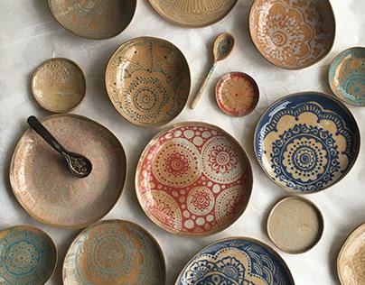 WABI-SABI COLLECTION Humna Mustafa Ceramics