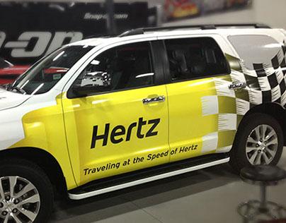 NHRA Tony Pedregon Hertz Tow Vehicle
