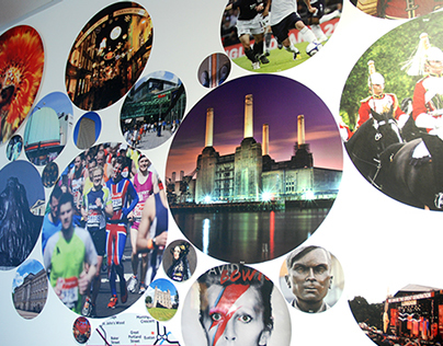 INTO London Centre environmental branding