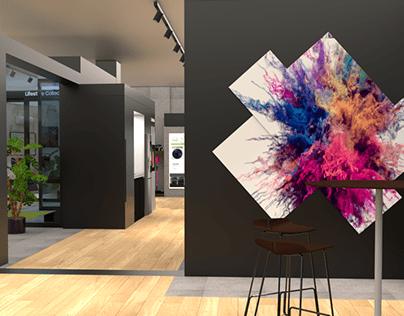 One Samsung store design idea