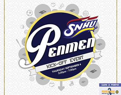 Penmen Kick-Off Event Advertisement