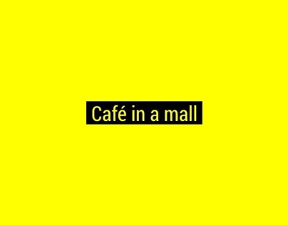 Cafe Bar in a Mall