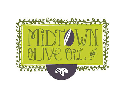 Midtown Olive Oil Identity