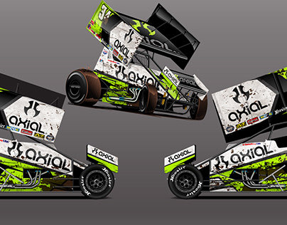 Axial OutLaw Winged Sprint Car by RPM-3D, Inc.