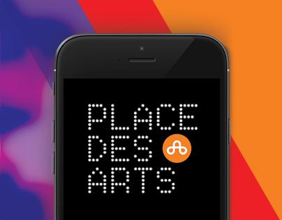 Place des Arts - Concept