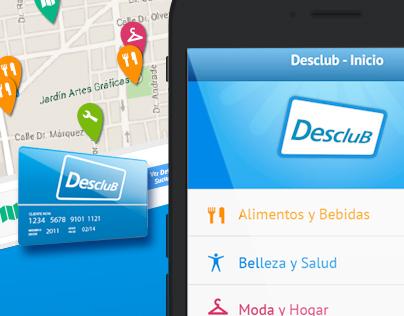Diseño para App de Descuentos / app UI design