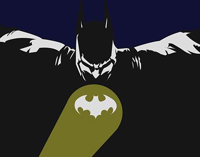 Batman Gotham City minamalist poster