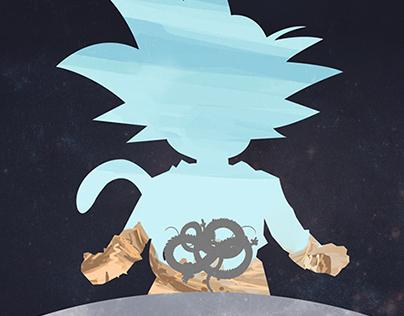 Dragonball Goku Poster