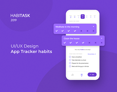 Habitask - Habits and tasks tracker