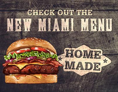 Miami Burger & Bar | Branding