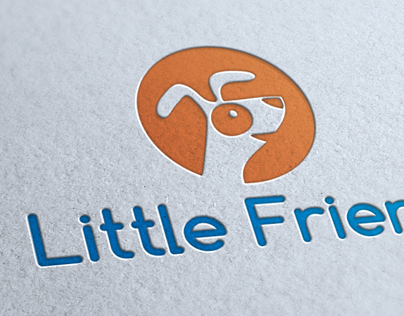 Little Friend Logo Template