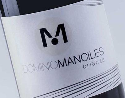 Diseño Etiqueta para vino Dominio Manciles