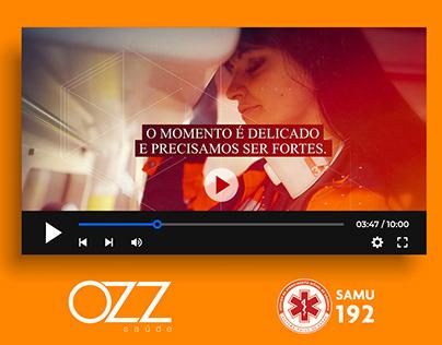 VÍDEO DE APOIO SAMU 192 | OZZ SAÚDE [2021]