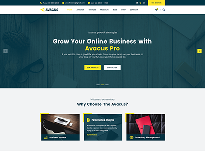 Avacus | Business Website