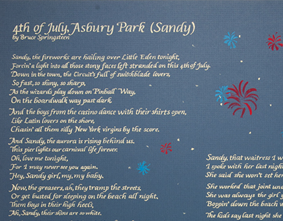 4th of July, Asbury Park (Sandy) poster