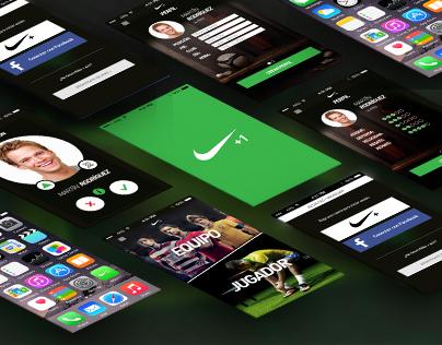NIKE+1 /Mobile App