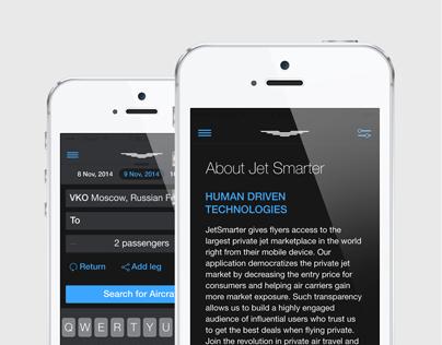 JetSmarter App Design Concept