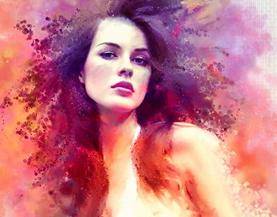 Portrait painting 2