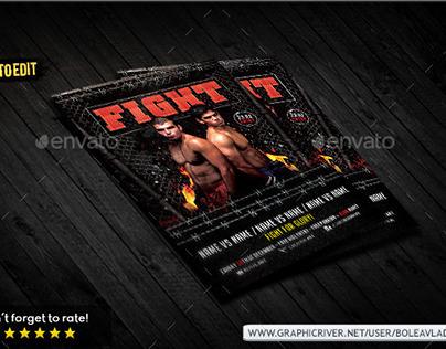Flyer Fight Night