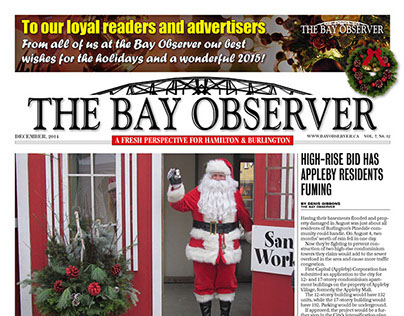 """The Bay Observer"" monthly newspaper"