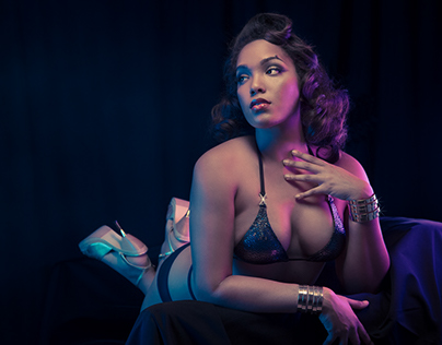 Ashleeta for Flo Foxworthy Showgirl Boutique