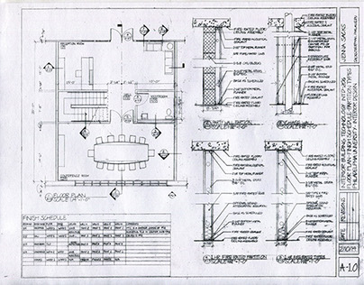 Construction Documents: Office / Conference Room