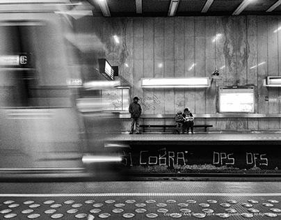 shooting people (on the metro)