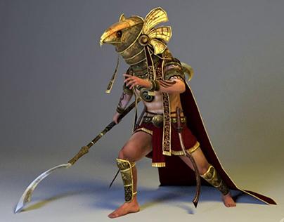 Horus idle animation