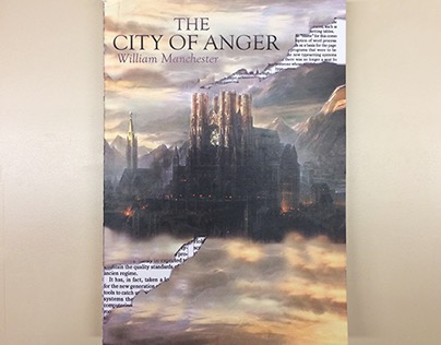 """The City of Anger"" Book Cover Design"