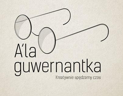 """Branding for childcare agency """"Ala guwernantka"""""""