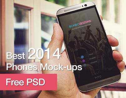 Best 2014 Phones Mockups