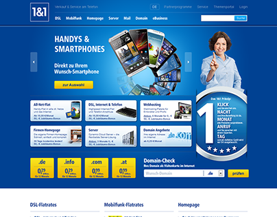 1&1 Homepages