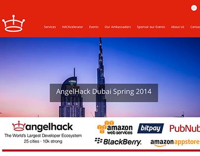 AngelHack Dubai Spring 2014 - UX Workshop