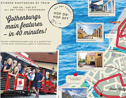 Stinsen   Graphic Design   Tourist Map