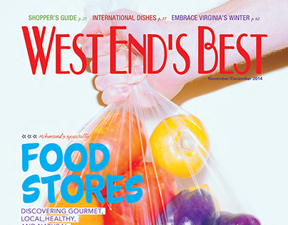 West End's Best Magazine – Nov/Dec 2014 Cover Design