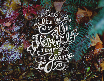 Holiday Hand Lettering Series