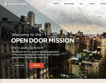 Open Door Mission: Redesign