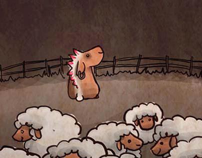 La oveja punk de la familia