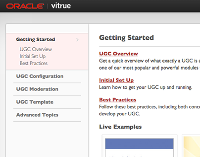 Oracle Social | UGC Documentation v1