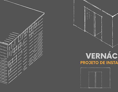 Vernáculo - Instalação THAU III