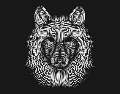 Wolf // silkscreen