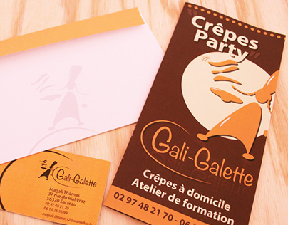 Identité visuelle / Gali Galette
