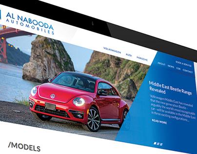 Al Nabooda Website