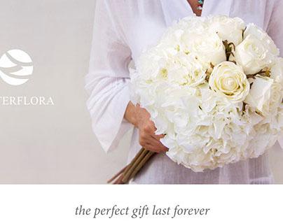 Silk Roses & Hydrangeas Bouquet
