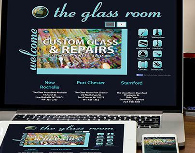 The Glass Room Website